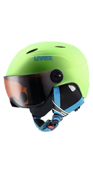 UVEX Junior visor pro Helmet applegreen mat